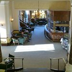  Chateau Impney - internal from staris looking to bar
