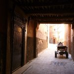  Derb El  Cadi - Entrance to the Riad