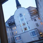 Scandic Palace - my room was facing to courtyard