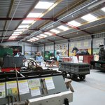 Inside the engine sheds