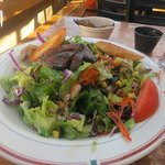  The Portobello Avocado Salad my wife enjoyed