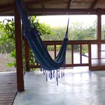 hammock outside master bedroom