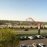  Dorney Park from our room.