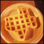  Texas waffles on a Saturday morning at Hampton inn Austin arboretum!