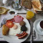  Falshea House - Full Irish Breakfast - Yum!