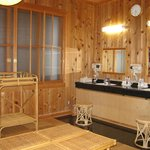  Vanity Area attached to the Indoor Onsen