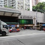  The MTR entry and Mc Donald on the side