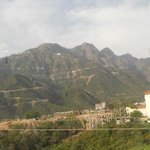 View of the Vaishno Devi Mountain from the room