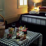  seaview room with breakfast hamper