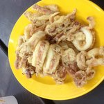 Fried squid.. Finger lickin good