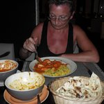  eating curry at masala in marina