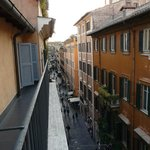  View to Via della Croce