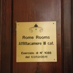 B&B Rome Rooms Foto