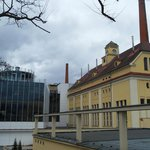  Old brewery on the right and new modern one on the left.