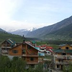  View from basic room towards Rohtang pass