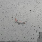  Good if wet view of arriving aircraft from room