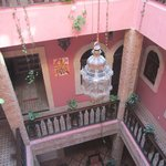  View of the courtyard
