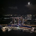  view from 1Altitude: moon over MBS