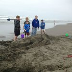  building sand sculptures is one of our favorite things to do on the beach