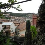  Blick ber Cuscos Dcher / view over Cusco&#39;s roofs