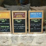  Les menus du jour d&#39;Avril 2013 du resto LA CANTINE