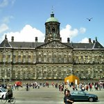  The Royal Palace in Amsterdam.