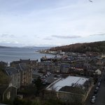 View of the Rothesay harbour from the Black Watch Room