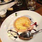 Lemon Tart, came the next visit with ice-cream!