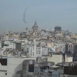  breakfast, room view The Galata tower