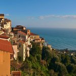  The view of Pisciotta from the hotel terrace