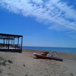  spiaggia davanti all&#39;hotel