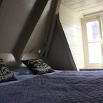  appartamento con vista interna: mansarda (letto)