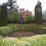 Manor house ruins and gardens