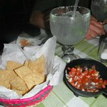 Thee best margaritas & Mexican salsa we had all week! La Fonda @ Villas El Rancho
