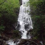  Mingo Falls in late April, 2013
