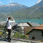  biking Annecy