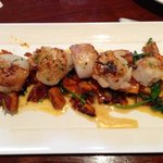 Gluten Free Menu - Rosemary Scallops with Squash