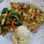  Snapper with vegies