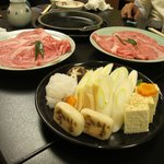 the sukiyaki set
