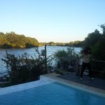  View from the pool deck...the Zambezi