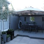  Garden Dining Area - weather permitting !!