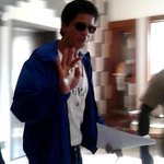 King khan at lobby