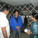 Discussion wiht KIng khan and Managing direcotr