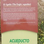 Hope you can read the details on Aqueduct of El Aguila
