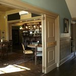 The bar & lobby at The Pembroke Arms