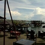 food court at losari beach
