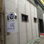 GS hotel Sign