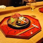 Restaurant Kamikura Dinner mage 京料理夕食イメージ