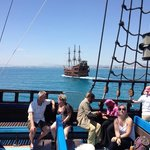 pirate boat trip !!! brilliant