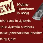 Free mobile phone for our homepage booking-botton